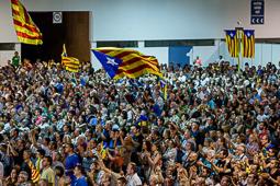 Eleccions 27-S: acte central de Junts pel Sí a l'Hospitalet