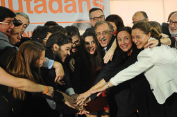 Eleccions 27-S: nit electoral de Ciutadans