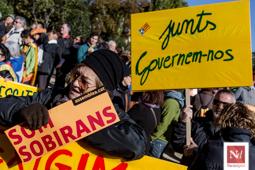 Concentració «Govern, Unitat, Independència» al Parc de la Ciutadella