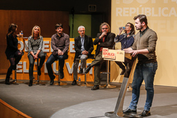 Eleccions 20-D: Acte d'ERC a Terrassa