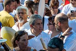 Diada Nacional 2016: manifestació a Barcelona (Arc de Triomf)