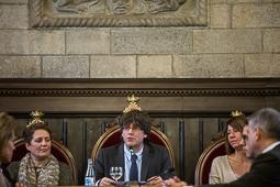 Darrer ple de Carles Puigdemont com a alcalde de Girona