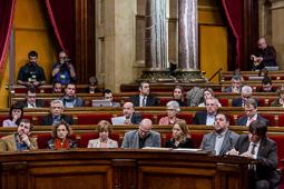 Muriel Casals, tota una vida de lluita 20/01/2016. Muriel Casals, al Parlament durant el primer ple de la presidència de Carles Puigdemont. Foto: Adrià Costa.