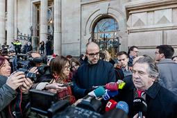 Francesc Homs declara al TSJC pel 9-N