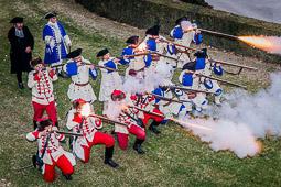 Les millors fotos de la setmana de Nació Digital <a href='http://www.naciodigital.cat/osona/noticia/49952/videos/fotos/montesquiu/reviu/historica/batalla/1714'>Commemoració de la batalla de Montesquiu de 1714.</a>. </br> Foto: Josep M. Montaner