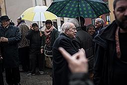 Funeral de mossèn Ballarín a Berga Funeral del Mossen Ballarín a Berga