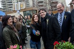Les millors fotos de la setmana de Nació Digital <a href='http://www.naciodigital.cat/osona/noticia/50036/puigdemont/aposta/innovacio/superar/dificultats/sector/primari'>El president de la Generalitat, Carles Puigdemont assisteix a la inauguració oficial del Mercat del Ram de Vic.</a> </br> Foto: Adrià Costa