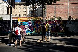 Diada Nacional 2016: manifestació a Salt Ambient previ al dematí a Salt
