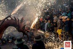 Les millors fotos de la setmana de Nació Digital  Seguici Popular de Santa Tecla. </br> Foto: Júlia Abelló