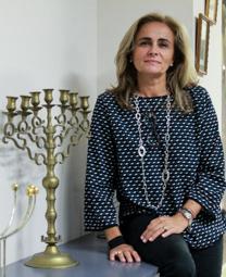 Les millors fotos de la setmana de Nació Digital Sílvia Lleida, presidenta de la comunitat jueva Atid.</br> Foto: Isaac Meler