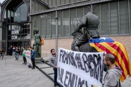 Inauguració de l'exposició «Franco, Victòria, República. Impunitat i espai urbà» al Born