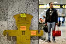 Vaga de neteja a l'aeroport del Prat