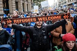 Manifestació «Volem acollir»