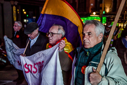 Marxa de la dignitat a Barcelona