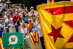Acte  «Referèndum és democràcia» a Montjuïc