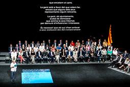 Acte «Garanties per a la democràcia: per un referèndum legal, efectiu i vinculant» al TNC