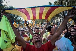 Diada Nacional 2017: manifestació de la Diada a Barcelona