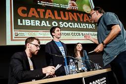 Debat «Catalunya: liberal o socialista?» al CCCB