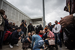 Referèndum 1-O: càrregues policials a Girona