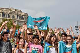 Aturada de país: mobilitzacions a Barcelona