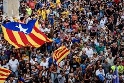 Aturada de país: mobilització a Vilanova i la Geltrú