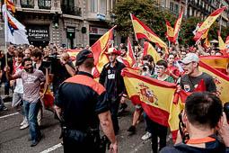 Manifestació unionista del 12-O a Barcelona