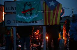 Aturada de país 8-N: bloqueig de la frontera a Puigcerdà