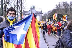 Manifestació «Omplim Brussel·les»