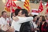 Municipals 2011: acte final de campanya del PSC a Barcelona