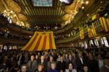 28N: acte d'ERC al Palau de la Música Catalana