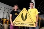 La burricleta arriba al Penedès La Pau Simon i el David Sala són els emprenedors que han obert el centre de Burricleta al Penedès i al Garraf.