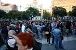 Assemblea dels indignats a plaça Catalunya
