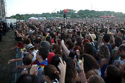 Canet Rock 2014 Milers de persones han omplert el recinte del Pla d'en Serra 36 anys més tard de la darrera edició del festival.
