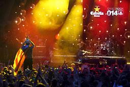 Canet Rock 2014 Elèctrica Dharma ha fet a ballar el públic del Canet Rock 39 anys més tard de la seva darrera actuació.