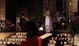 «La Cerimònia de la Llum» de Lídia Pujol a Santa Maria del Mar