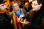 Concentració «Mas deixa pas» a Barcelona