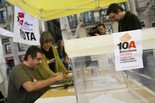 10A Barcelona Decideix: ambient al centre de la ciutat