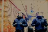 Dessallotgen el nou Casal Popular de Gràcia. La Brimo ha acudit immediatament a desallotjar la finca, sis anys buida.