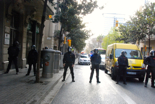Dessallotgen el nou Casal Popular de Gràcia. Concentració a Gran de Gràcia.