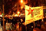 Dessallotgen el nou Casal Popular de Gràcia. Fot cedida per Arran Gràcia de la manifestació d'aquest divendres, 25 de gener.