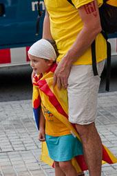 Via Catalana 2014: trams 50, 51 i 52