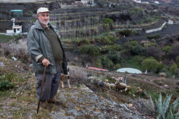 Eleccions andaluses 2015 Juan Pando, pastor de Lúcar, Almeria.