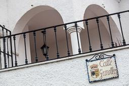 Eleccions andaluses 2015 Carrer Granollers de Lúcar, Almeria.