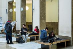 Eleccions andaluses 2015 Estudiants de Ciències Polítiques de la Universitat de Granada.