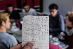 Eleccions andaluses 2015 La porra dels comicis andalusos d'un grup d'estudiants de Ciències Polítiques de la Universitat de Granada.