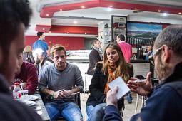 Eleccions andaluses 2015 Tertulia amb estudiants de Ciències Polítiques de la Universitat de Granada.
