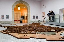 Eleccions andaluses 2015 Maqueta de Cadis exposada al Museo de las Cortes.