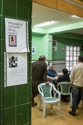 Eleccions andaluses 2015 Casa de Cultura de Marinaleda.