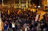 Enfrontament entre estudiants i Mossos a Barcelona (2)