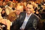 Festa de proclamació d'Artur Mas com a candidat a la Generalitat